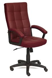 Купить <b>офисное кресло Tetchair TRENDY</b> (Bordeaux) 1141671 в ...
