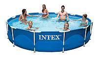 Intex 28210 Каркасный бассейн <b>Intex METAL FRAME 366х76</b> см ...
