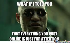 Attention Seeker | Attention Seeker Meme - | Sexy Cats | Pinterest ... via Relatably.com
