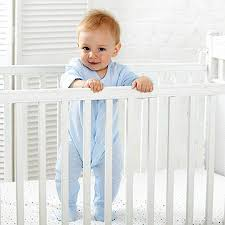 Image result for baby standing in crib