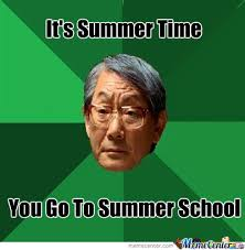 Summer School by feelsonic - Meme Center via Relatably.com