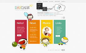babysitter website templates templatemonster babysitter website template