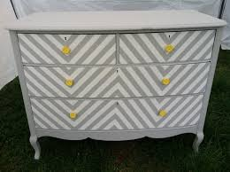dressers chevron dresser and chevron on pinterest chevron painted furniture