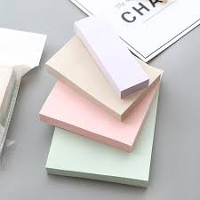 <b>4 pcs Mild color</b> memo pad Classical index label memo pad Daily ...
