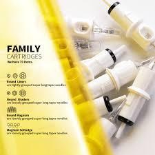 Hawink 20pcs Disposable Silicone <b>Sterilized</b> Hawk <b>Tattoo Needle</b> ...