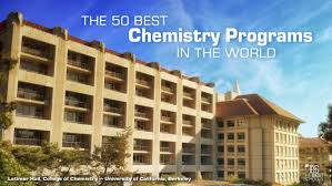 the best chemistry programs in the world today the best schools