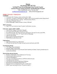 cover letter physical therapist resume template physical therapist cover letter entry level pta resume samples physical therapy professional resumes effective sample for therapist and
