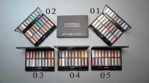 mac eyeshadow 18 colors 5 sets