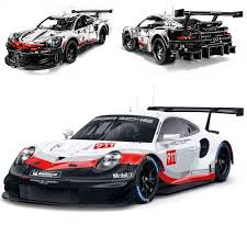<b>New Technic</b> series The White Super <b>Racing Car</b> Model Building ...