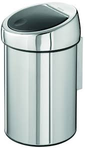 363962 Мусорный бак <b>Brabantia</b> Touch Bin (3л) - <b>Brilliant</b> Steel ...