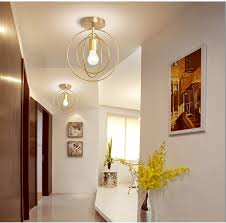 Led Ceiling <b>Lights</b> Modern Ceiling <b>Lamp</b> Vintage Plafondlamp Cage ...