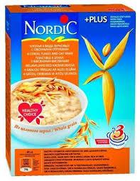 <b>Nordic Хлопья 4</b> вида зерновых с овсяными отрубями, 600 г ...