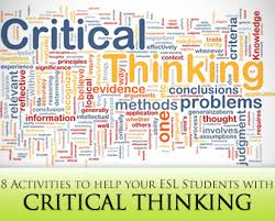 Critical and creative thinking activities grade     Coursework