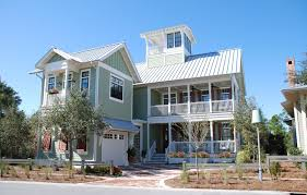"""Florida Architects   Watersound  Watercolor  Rosemary Beach    Often referred to as an """"upside down house""""  this residence boasts a flipped floor plan where the bedrooms are on the ground floor and the main living space"""