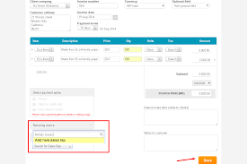 why should a s rep be added when creating an invoice handdy after creating invoice click on save option