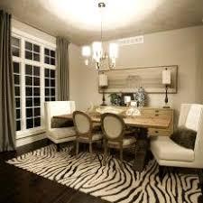 zebra area rug grounds transitional dining room chic zebra print rug