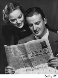 Image result for reading newspaper