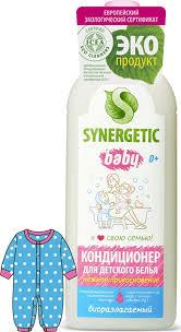 <b>Кондиционер</b>-ополаскиватель для детского белья <b>Synergetic</b> ...