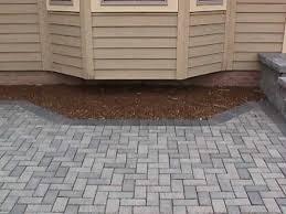 herringbone patio
