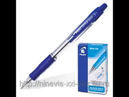 <b>Ручка</b> шариковая <b>Pilot BPGP</b>-<b>10R</b>-<b>F</b> синяя - купить по лучшей ...