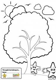 Coping with anxiety Worry Tree BW e1429803779967 help kids cope with anxiety printable worry tree kiddycharts on fear and anxiety worksheets