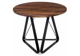 <b>Стол</b> обеденный <b>WOODVILLE</b> деревянный <b>Vogo brown</b> / <b>black</b> ...