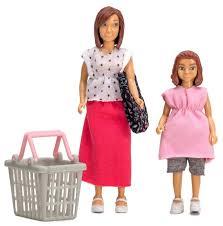 <b>Набор кукол Lundby</b> для домика <b>Мама</b> и дочка, 60807200 ...