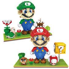 Super Mario scenario <b>1500pcs free shipping</b> diamond block new ...