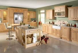 limed oak kitchen units: natural oak kitchen cabinets  enchanting home decor expressing outstanding kitchen paint colors with