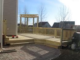 patio steps pea size x:
