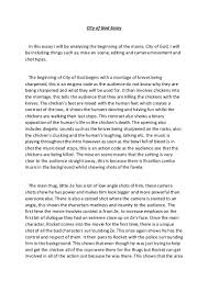 city of god essay the city of god film analysis essay essay for city of god essay