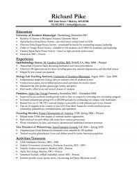 resume resume samples