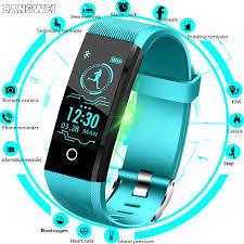 BANGWEI 2019 New <b>Smart Watch Men Blood</b> Pressure Heart Rate ...