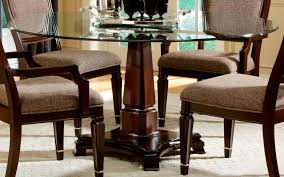 Glass Dining Room Tables Round Circular Full View1 Exp Circular Tables Sets Small Drop Leaf