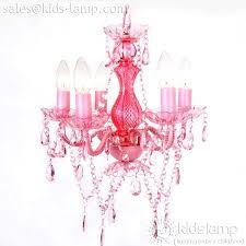 most popular acrylic plastic pink chandelier for girls room kids lampcom chandelier girls room