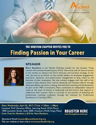 ascend finding passion in your career register here at bit ly findingpassionincareer
