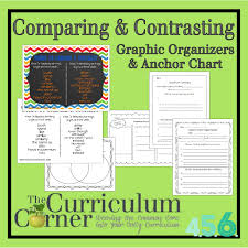 17 best images about compare and contrast writing 17 best images about compare and contrast writing anchor charts teaching and opinion writing