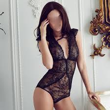 European brand <b>sexy full lace</b> transparent ultrathin jumpsuits plus ...