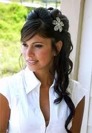 finerwaves1 flower birdcage 81273 wedding long hairstyles 42