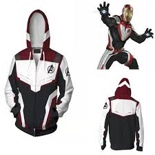 <b>Avengers</b> Endgame Quantum Realm Sweatshirt Jacket Advanced ...