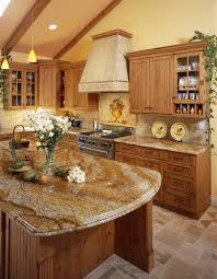 comfortable kitchen layout cabinets knotty alder