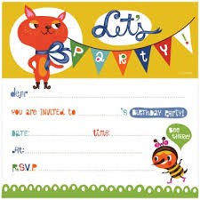 Kids Birthday Invitation Template by Dardik — TEMPLATIX.COM Boys Birthday Party Invitation Template