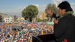 Resultado de imagen para evo no  bolivia
