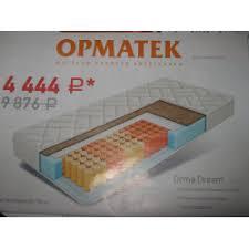 Отзывы о <b>Матрас Орматек</b> Orma <b>Dream</b>