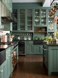 Kitchen Message Center Green With Envy Gorgeous Green Kitchen Cabinets Happily Ever