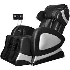 Shop vidaXL <b>Black Electric Artificial</b> Leather Massage Chair ...