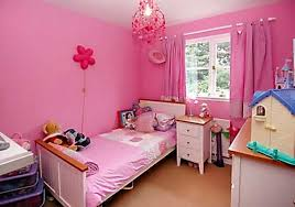 girls room decor ideas painting: very cute beautiful bedroom design ideas for girls in pink color