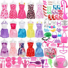 Buy SOTOGO Barbie <b>Doll</b> Clothes Set Includes 15 Gown Outfits ...