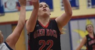 girls basketball lohr makes history for glen rock