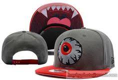 <b>Mishka Keep Watch</b> Snapback Grey Red | Snapback hats ...
